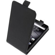 Tasche für Gigaset GS160 / GS170 FlipStyle Handytasche Schutz Hülle Flip Schwarz