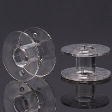 20 Nähmaschinenspulen - Spule Janome Nähmaschine - 20 x 11 mm Spulen Acryl NEU