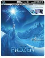 FROZEN (U.S EXCLUSIVE STEELBOOK / 4K Ultra HD +Blu-ray) sealed brand new