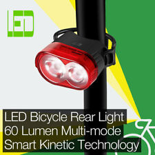 High Performance 60LM LED Bicycle/Bike Rear/Tail Light Smart Kinetic Technology