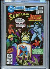 DC Comics Presents #43 CGC 9.6 White Legion of Superheroes