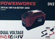 PowerWorks P2448B4 48 V 8000 mAh Dual Voltage Akku - Rot/Schwarz