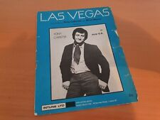 LAS VEGAS - SHEET MUSIC - TONY CHRISTIE