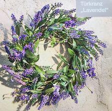 XXL Dekokranz Lavendel NEU  Türkranz üppig beschmückt 40 cm