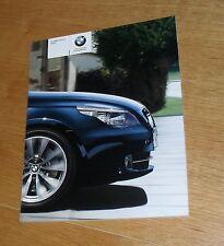 BMW 5 Series E60 Brochure 2009 - 523I 525I 530I 550I 520D 525D 530D 535D M Sport