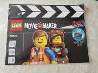 Lego Set Movie Maker 70820 The Lego Movie 2 Movie Maker Set Boxed Instructions