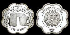 Tonga 1 Pa'anga 1999 'Millennium 2000 - Stone Archway' PROOF Argent 31.20 gr