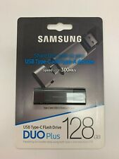 New Samsung Duo Plus 128GB - 300MB/s USB 3.1 Flash Drive MUF-128DB/AM