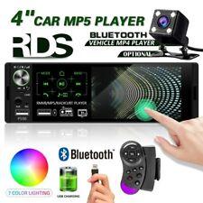 "4.1"" Single 1Din Car Stereo Head Unit Touch Screen MP5 RDS USB Radio + Cam"