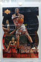 Rare: 1998 98 Upper Deck MJX Michael Jordan MJ Timepieces #98 #'d of 2300 Bulls