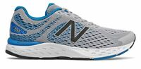 New Balance Men's 680v6 Shoes Grey with Blue