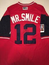 official photos a698c 61b7a Francisco Lindor MLB Original Autographed Jerseys for sale ...