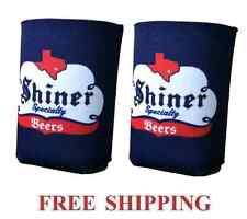 Spoetzl Brewery Shiner 2 Beer Can Holders Cooler Coozie Coolie Koozie Huggie New