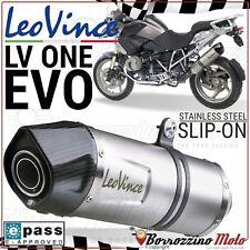 POT SILENCIEUX LEOVINCE LV ONE EVO INOX APPROUVE e9 BMW R 1200 GS 2010