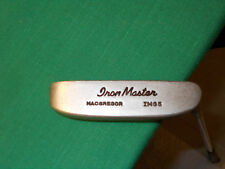 MACGREGOR IRON MASTER IMG5 PUTTER - ALL ORIG.  LEATHER WRAP GRIP - NEAR FLAWLESS