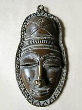 Old Tribal Bronze Mask from COTE I' VOIRE Beautiful  Rare Cheap Price Don't Mis*