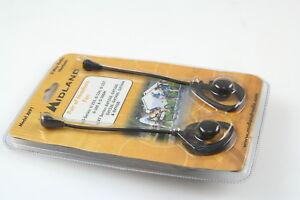 MIDLAND AVP1 Radio Earbud Microphones, 2 Headsets for Walkie Talkie