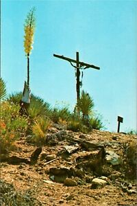 The Crucifixion, 12th Station of the Cross at St. Andrew's Priory, Valyermo, CA