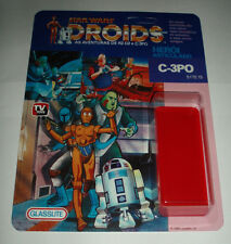 C-3PO Custom Vintage Star Wars Droids Glasslite 9 Back Cardback Kit