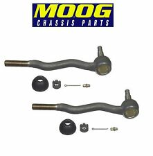 For BMW E30 E36 318 325 M3 Pair Set of 2 Front Outer Steering Tie Rod Ends Moog