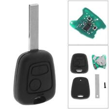433mhz 2BUTTON Remote Key Fob Transponder Chip For Peugeot 307 Citroen 73373067C
