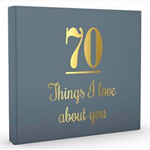 70 Things I Love About You  ( Birthday / Guest Book )  -  9781922256737