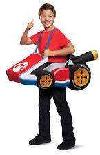 Mario Kart Boys Child Race Car Halloween Video Game Costume