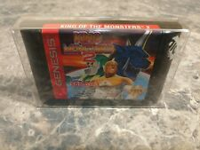 King of the Monsters 2 (Sega Genesis, 1994) - CLEANED & TESTED