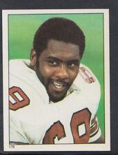 Topps 1981 American Football Sticker No 178 - Rush Brown - Cardinals (T438)