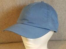 Nike Golf Unstructured Twill Cap Dad Hat Cap 59722 Adjustable Blue