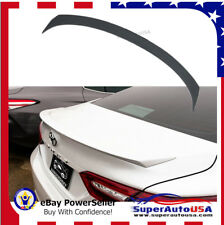 FOR 18 -19 TOYOTA CAMRY OE SPORT STYLE REAR TRUNK LID SPOILER WING Painted white