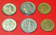 ITALY- 50,100 & 200 LIRE-3 DIFFERENT COINS SET (L- 18)