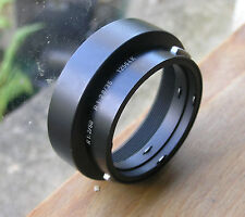 Leica Leicaflex R slr lens hood genuine for  50mm & 35mm lens  german 12564K