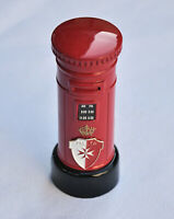 00497 Malta Royal Mail Post Box Sharpener Souvenir Die Cast Miniature Metal New