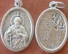 Lightweight, shiny Saint St. Jude Medal + Hope for the Hopeless