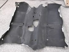 1999-2005  MAZDA MIATA  FLOOR CARPET, BLACK, OEM,