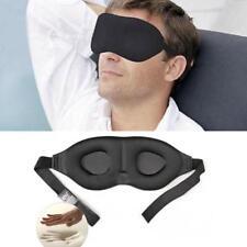 Rest Eye-mask Memory Foam Padded Shade Cover Blindfold Eyeshade for Sleeping Nap