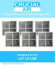 6 Replacements Fit LG / Kenmore Fridge Filters Part # LT120F