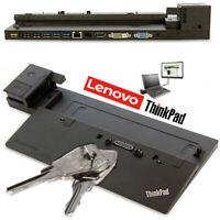 Lenovo ThinkPad Dock Port Replicator 40A1 04W3948 Type X240  X250 T450 T460