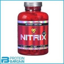 BSN Nitrix 2.0 Workout Amplifier 180 Tablets Nitric Oxide Creatine Massive Pump