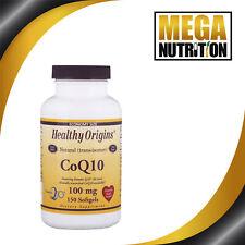 Healthy Origins Coenzyme Q10 Kaneka Q10 100mg 150 Softgel | Support Heart Health