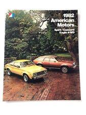 1982 AMC American Motors Concord Spirit Eagle 4wd 32-page Sales Brochure Catalog