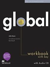 Very Good, Global pre-Intermediate Work Book + CD with Key, Julia Moore, Book