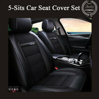 Standard Edition 3D Breathable 5-Seats Sedan SUV Car Seat Cover Front+Rear Set