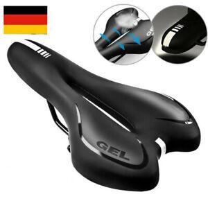Fahrradsattel BIG Gel Damen Herren MTB Sitz Weich Bequem Komfort Fahrradsitz HOT