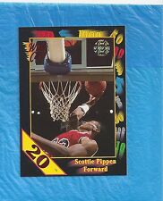 SCOTTIE PIPPEN 1991-92 WILD CARD 20 STRIPE VERSION CHICAGO BULLS