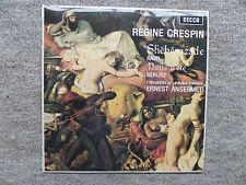 SXL 6081 BERLIOZ: NUITS D'ETE / RAVEL: SHEHERAZADE CRESPIN/SRO/ANSERMET LP NM