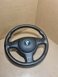 Sterring Wheel Bmw E 46 3 Series M Sport with airbag used