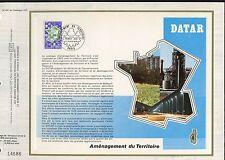 DOCUMENT CEF PREMIER JOUR  1978  TIMBRE   N° 1995 DELEGATION AMENAGEMENT