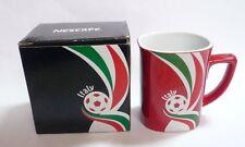 "NESCAFE COFFEE Red FIFA Brazil Mug ITALY World Cup 2014 Nestle 3.5"" Malaysia"